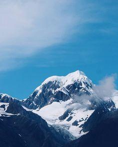 Mt Tasman and Fox Glacier  #newzealand #mttasman #mtcook #foxglacier #southislandnz #southernalpsnz #travel #mountains
