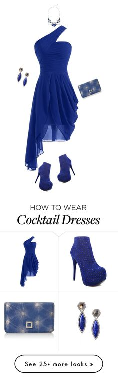 """Happy Birthday ELE88NA!!"" by autumnwolf1965 on Polyvore featuring moda, Luichiny, Lodis, contest, Blue, Elegant, partydress i happybirthday"