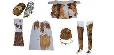 Cache-sexe, fourrures et jambières dans le dressing d'Otzi