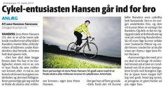 Hvad sker der lige? En licitation, der forventes at ende på godt 6 mio. kr. lander på 14 mio. Vi bør straks sammenfatte en ansøgning til Mørsk Fonden - i København har de netop støttet et 300 mio. kr. cykelbro projekt med 200 mio. kr.,Vi er ikke så mange cyklister i Randers, men relativt vil  betydningen af stiunderføringen være lige så stor som cykelbroer på Christianshavn.