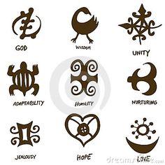 Adinka Symbols- West African Wisdom