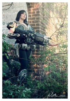 Stephanie Briles: Samantha Byrne from Gears of War 3 in Otaku House Cosplay Idol 2012