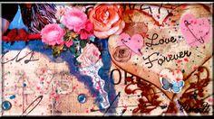 Scrapbooking papier action et Scrapnewage : Page #007 ~~°St Valentin°~~