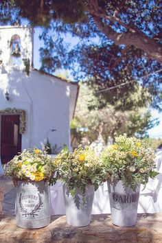 rustic country chamomile daisies wedding ideas…
