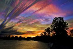 Painted Skies Using Time-lapse Photographs by matt molloy