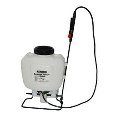 Tahoe Backpack Garden/Lawn/Weed/Pest Sprayer 4 Gal Gallon by tahoe. $39.99. Easy fill mouth with a built in strainer.. Oversized trigger wand with fingertip locking feature for continuous operation.. Easy to clean.. Easy to carry with an anti-fatigue shoulder strap for big jobs and top carry handle for quick jobs.. Easy to use high-volume pump for fast pressurizing.. Tahoe sprayers are compact and versatile, ideally suited for home lawn and garden projects to spray; wat...