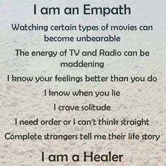 True Story ; I don't watch the news , some times background movie music gives me anxiety , i have to block negitivity from people and places ; i get drained and exausted from emotional vampires , and while healing , I block absorbing others pain. But I wouldn't have it any other way !