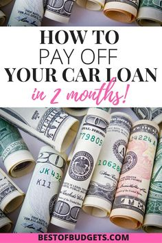 how to pay off car loan when selling