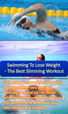 Swimming to lose weight the best slimming workout shape read more and running for How to lose weight in swimming pool