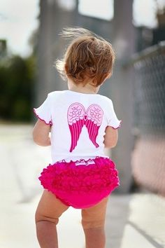 Ruffle Butts So Blessed Angel Tee