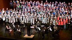 'El tamborilero' a 340 voces Recital, Music Videos, Youtube, Concert, Christmas, Dance, Gold Studs, Christmas Music, Xmas
