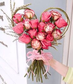 62 Ideas Flowers Bouquet Gift Valentines Heart For 2019 Purple Flower Bouquet, Beautiful Bouquet Of Flowers, Happy Flowers, Romantic Flowers, Simple Flowers, Freesia Bouquet, How To Wrap Flowers, Floral Bouquets, White Flowers