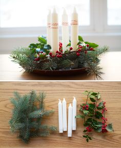 Simple. nice decoration add some cinnamon sticks to it to make it smell really good
