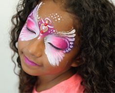 Marcela Murad from the Facepainting Book of Rainbows and Bling available at www.sillyfarm.com