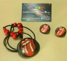 Cosmica Diseños  Alucinante, Divertida Y con estilo Como TU..!! rolling stones