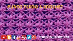 Punto a crochet, ganchillo o gancho para Chalecos, Blusas, Mantitas y chales fácil y rápido de tejer paso a paso. Point to crochet, crochet or hook for jacke...