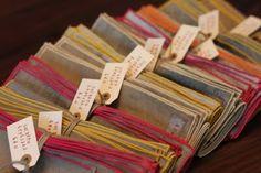 cloth napkins from alder & co