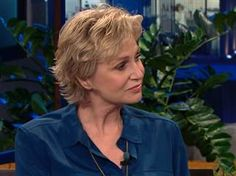 'Glee's' Jane Lynch chokes up talking about Cory Monteith on 'Tonight Show' - TODAY.com