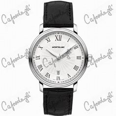 awesome MONTBLANC WATCH TRADITION DATES 112633 just added...