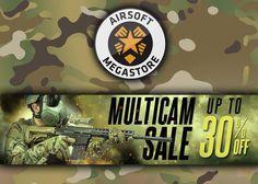 Multicam Gear Sale At Airsoft Megastore