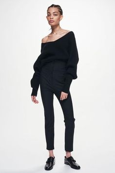 Ji Oh I Off Shoulder Ribbed Sweater | Shop | jioh - This Sexy Vouge Fashion just sold on Wrhel.com Want to know what she paid for it? Check it out.