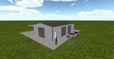 Cool 3D #marketing http://ift.tt/2nP6fKl #barn #workshop #greenhouse #garage #roofing #DIY