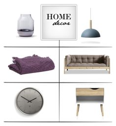 """""""Home Decor"""" by lovethesign-shop ❤ liked on Polyvore featuring interior, interiors, interior design, home, home decor, interior decorating, Muuto, ferm LIVING, Vivaraise and Umbra"""