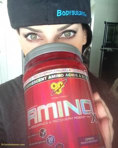 Stay on track during your fast! I drink calorie free BSN AminoX BCAAs immediately before, during, & every 2 hours after fasted training (until I break my fast).