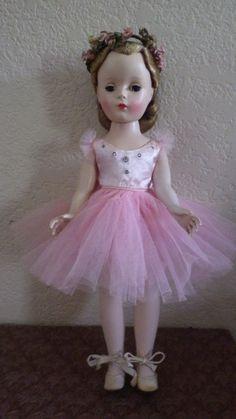 Doll Madame Alexander Margaret Ballerina Orig Dress 1950 | eBay