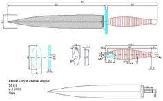 Чертежи ножей для изготовления: часть 3   LastDay Club image 33