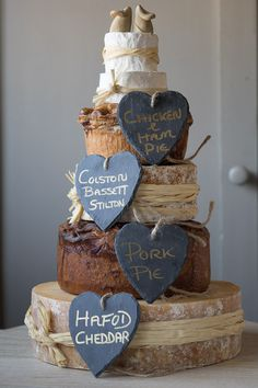 how do i make a cheese wedding cake our pork pie and cheese celebration cake would make a 15372