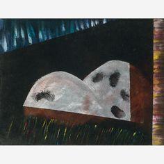 Cildo Meireles - Acrílica sobre veludo colado em madeira