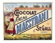 Chocolat Cacao Maestrani. St. Gall. Suisse. 1900.