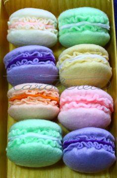 Carolicrea: Macaron portachiavi: il tutorial