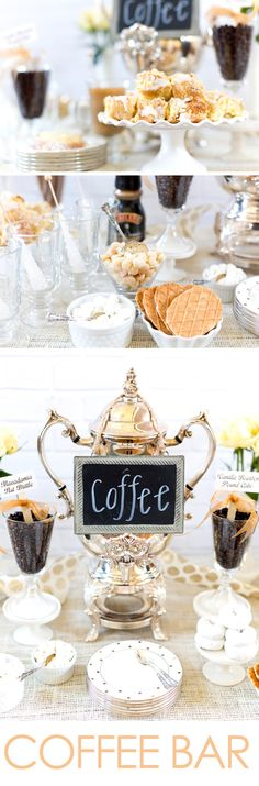 How to style a Coffee Bar Party!