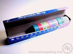 The Scrap Shoppe: Washi Tape Storage