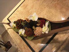 Cesta de frutas Tailandesa | Rosamorena Artes Florais | Elo7