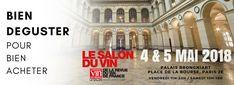 Paris Food & Drink Events: Salon du Vin de La Revue du Vin de France 2018 May 4 - May 5€25 - €35