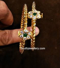 Indian Jewellery Designs - Page 44 of 1760 - Latest Indian Jewellery Designs 2020 ~ 22 Carat Gold Jewellery one gram gold Gold Ring Designs, Gold Bangles Design, Gold Jewellery Design, Gold Bangles For Women, Indian Jewelry Sets, Gold Jewelry Simple, Siri, Carat Gold, Babies