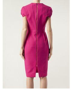 Back of Roland Mouret Dress #MILLIONDOLLARSHOPPERSANDREA