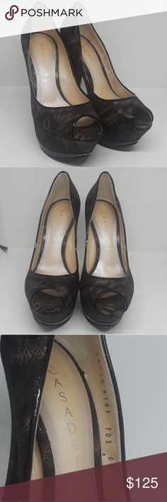 CASADEI platform heels 100% AUTHENTIC women's size 6.5  amazing condition no tears or scuffs  beautiful Dakota nero pattern 5 inch heel  #chanel #ysl #louboutin #redbottom #saint laurent #jimmy choo #louis vuitton #lv #Gucci #saksfifth #neiman marcus #hermes #fenty #salvatore ferragamo #prada #designer #jeffrey Campbell #fendi #moschino #jeremy Scott #kate spade #Burberry #dolce gabbana #tory burch #marc Jacobs #Celine #versace #cartier #decoltish #sokate #loubs Casadei Shoes Platforms