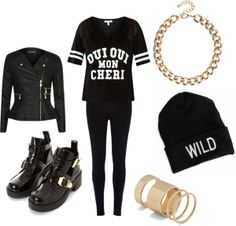 """Outfit inspired by 2NE1 in """"Come Back Home"""" MV"""