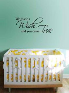 Love this for a baby room!!
