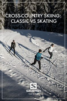 So, you want to start cross-country skiing, also known as Nordic skiing, but you're hesitating whether to choose classic or skate techniques? Can you use your classic skis to skate ski? This article will tell you everything you need to know about the diff Utah Ski Resorts, Winter Camping, Winter Running, Xc Ski, Nordic Skiing, Ice Climbing, Cross Country Skiing, Snowboarding, Skate
