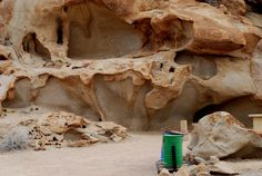 Rock formation in Bloedkoppie campsite