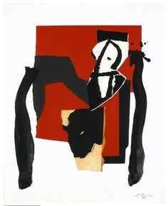 Robert Motherwell - The Red and the Black No. 43 - 1988