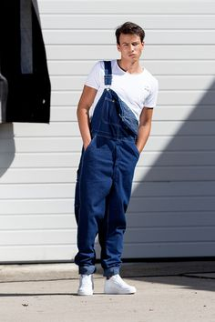pretty and colorful great look hot-selling cheap 192 Best Men in dungarees images in 2019 | Dungarees, Men ...