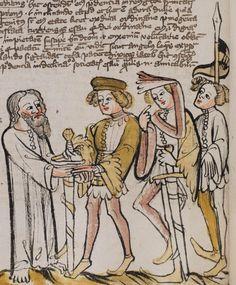 Basel, Universitätsbibliothek, A II 1, f. 69v, 1396, Germany