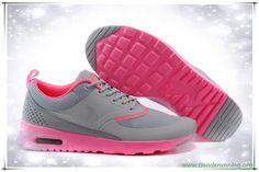 marcas de zapatos Mujeres Nike Air Max Thea Print Light gray / Phosphor 599409-101
