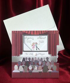 Wedding invitation cards 5411 Sedef Düğün davetiyesi www.sedefcards.com